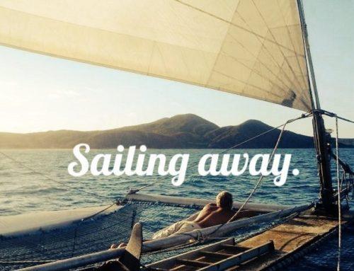 Ein unglaublicher Segelturn auf einem Catamaran
