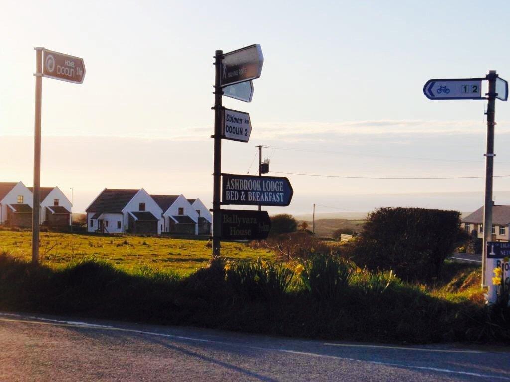 Ireland crossing
