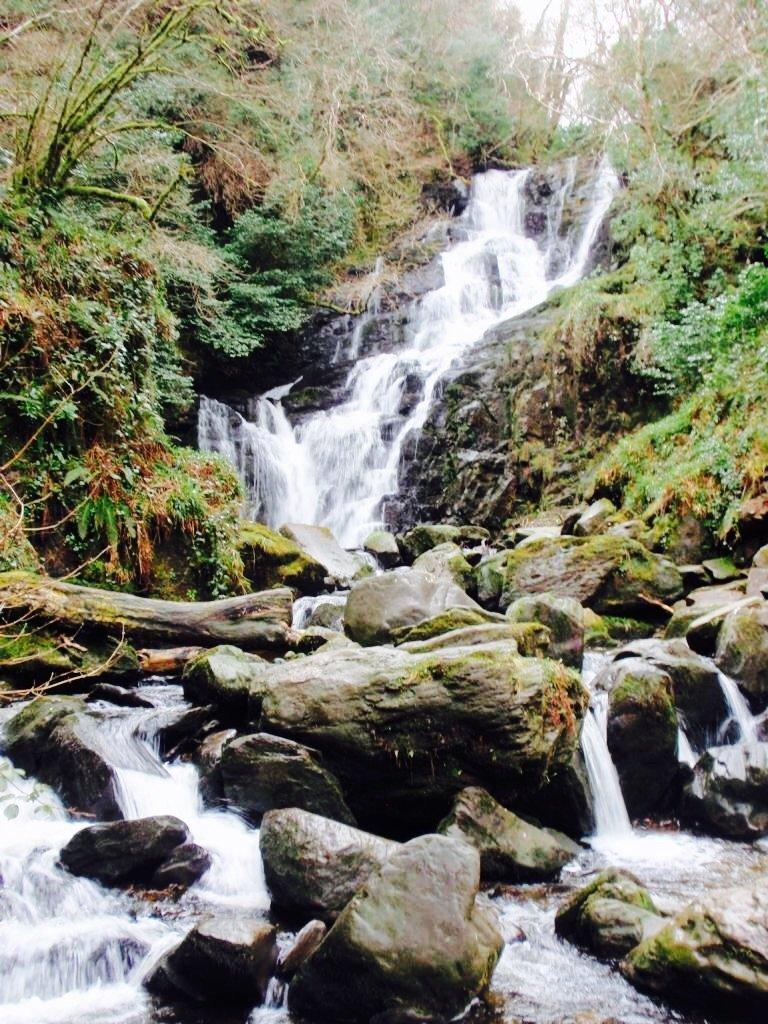 Waterfall in Ireland