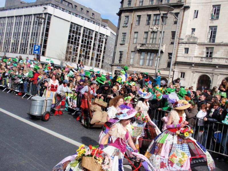St. Paddy's Parade in Dublin