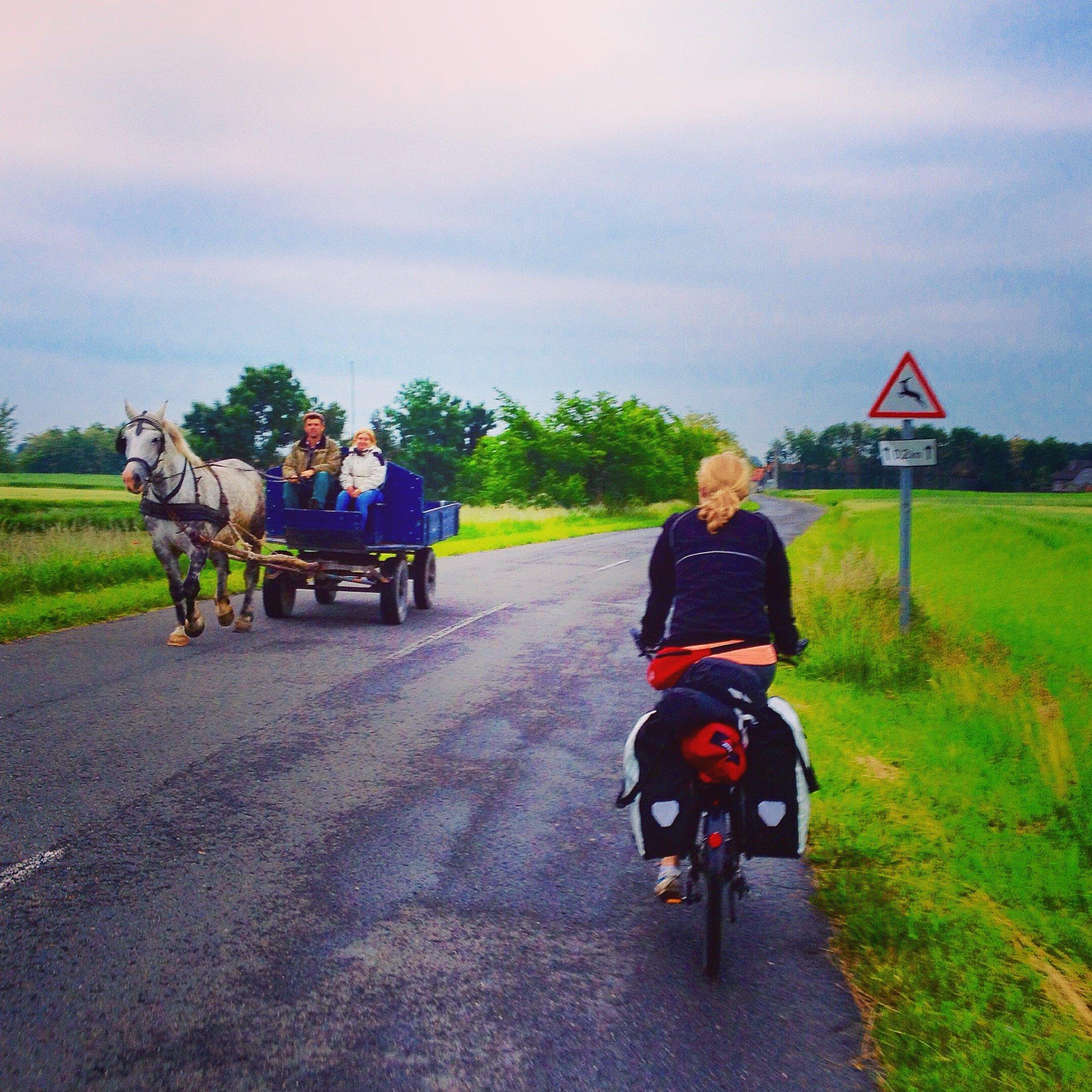From Slovakia to Hungary - Border