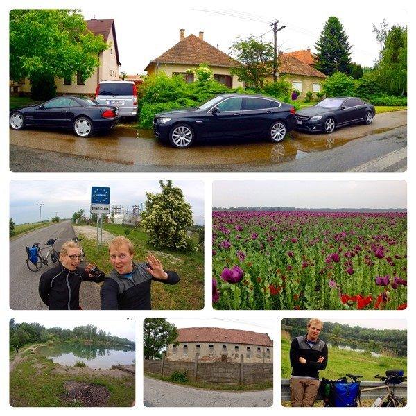 Donauradweg EuroVelo 6 Hungary Ungarn