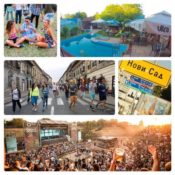 Exit Festival Novi Sad Serbia EuroVelo 6 (1)