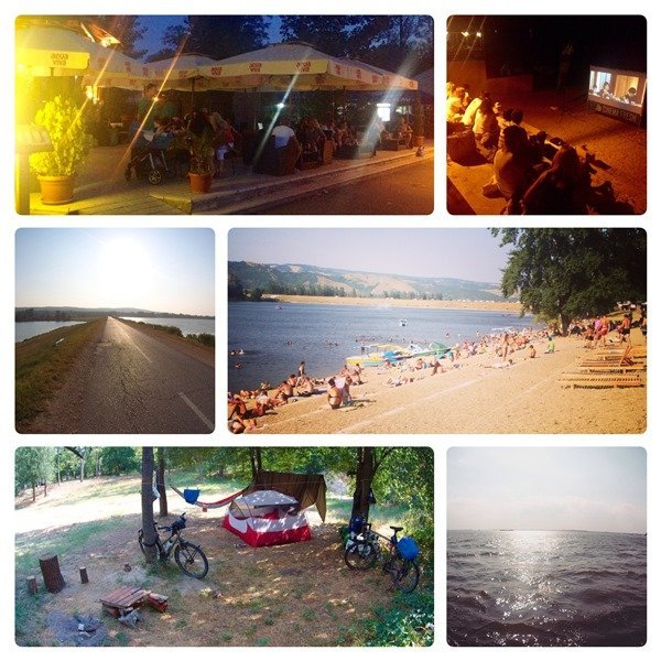 Donauradweg EuroVelo 6 Silver Lake Veliko Gradiste Serbia Serbien (4)