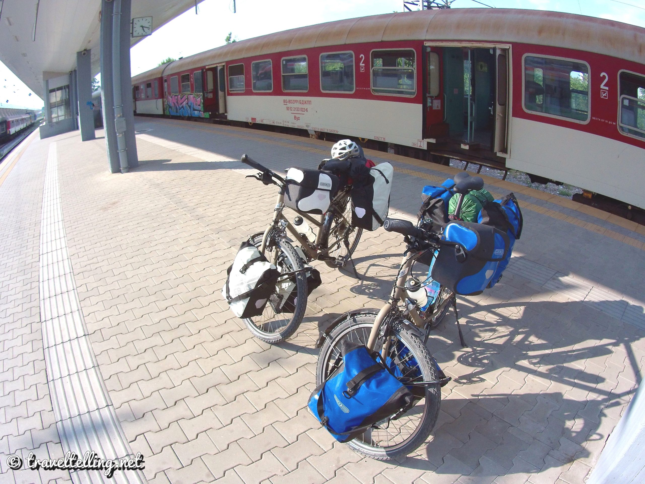 Train to Bucharest - Zugfahrt nach Bukarest