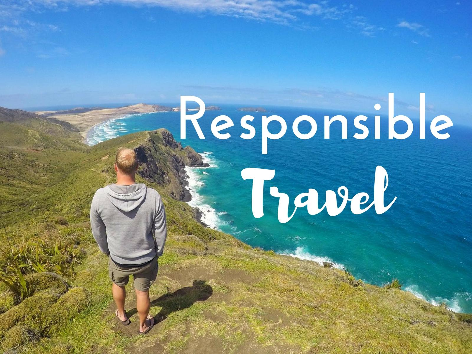 Advantages of Responsible Travel