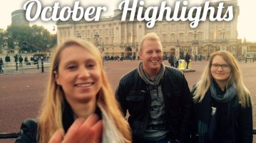 life of a travel blogger - october highlights
