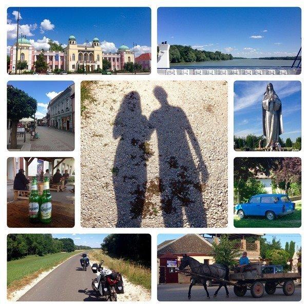 Mohacs, Hunagray - Donauradweg