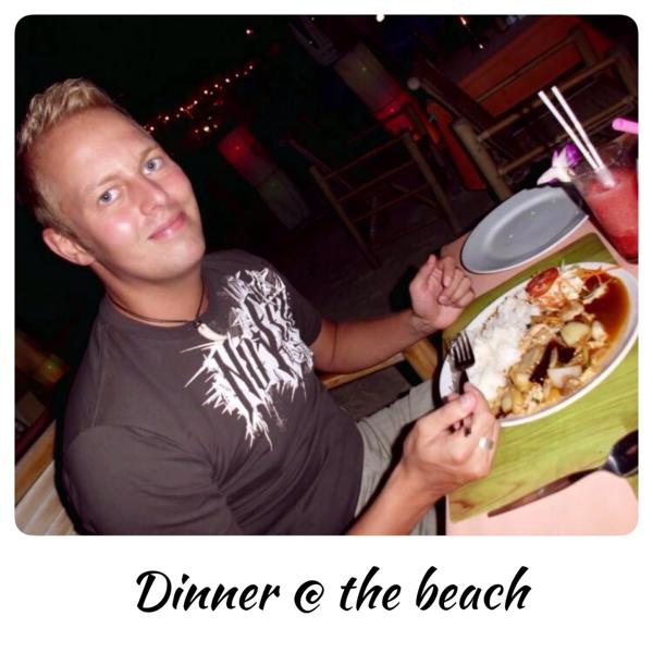 Dinner at beach - koh samui