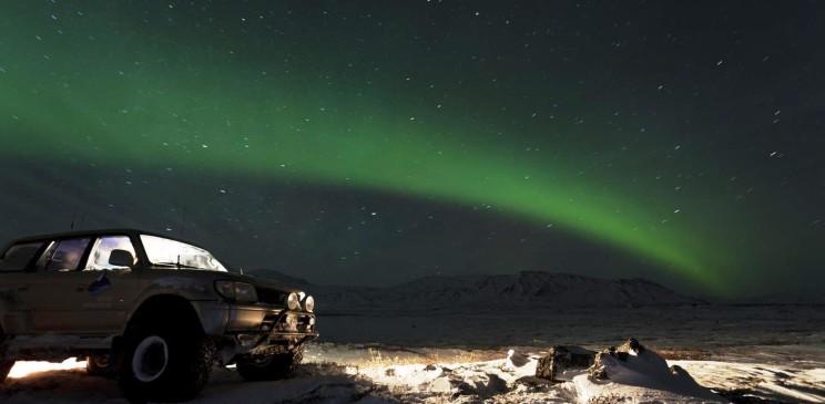 Northern Lights Iceland - Island