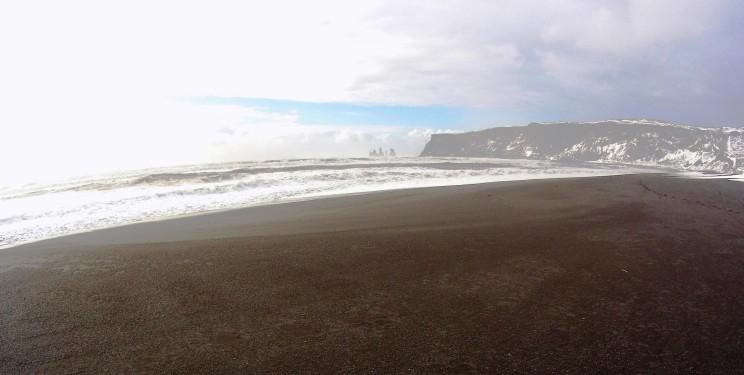 Black Sands Beach Vik Iceland