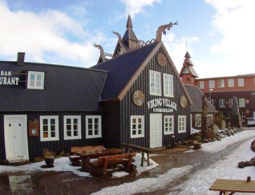 Zu Gast im Themenhotel Viking Village in Reykjavik, Island