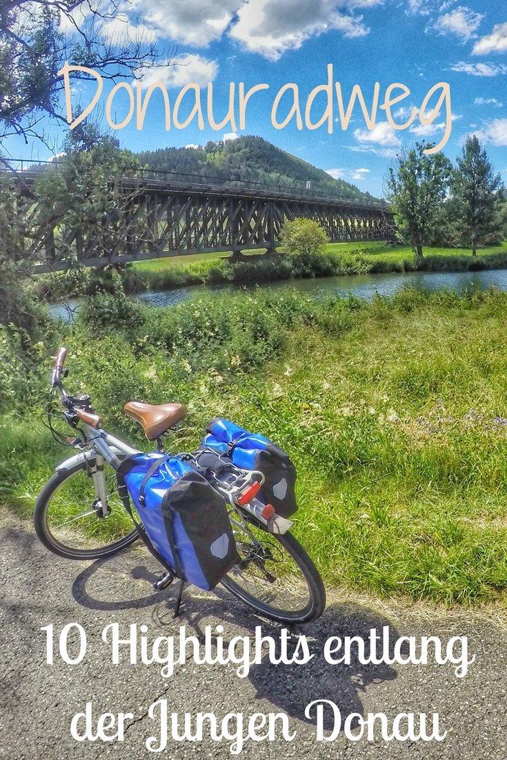 10 Hihlights entlang der Jungen Donau am Donauradweg