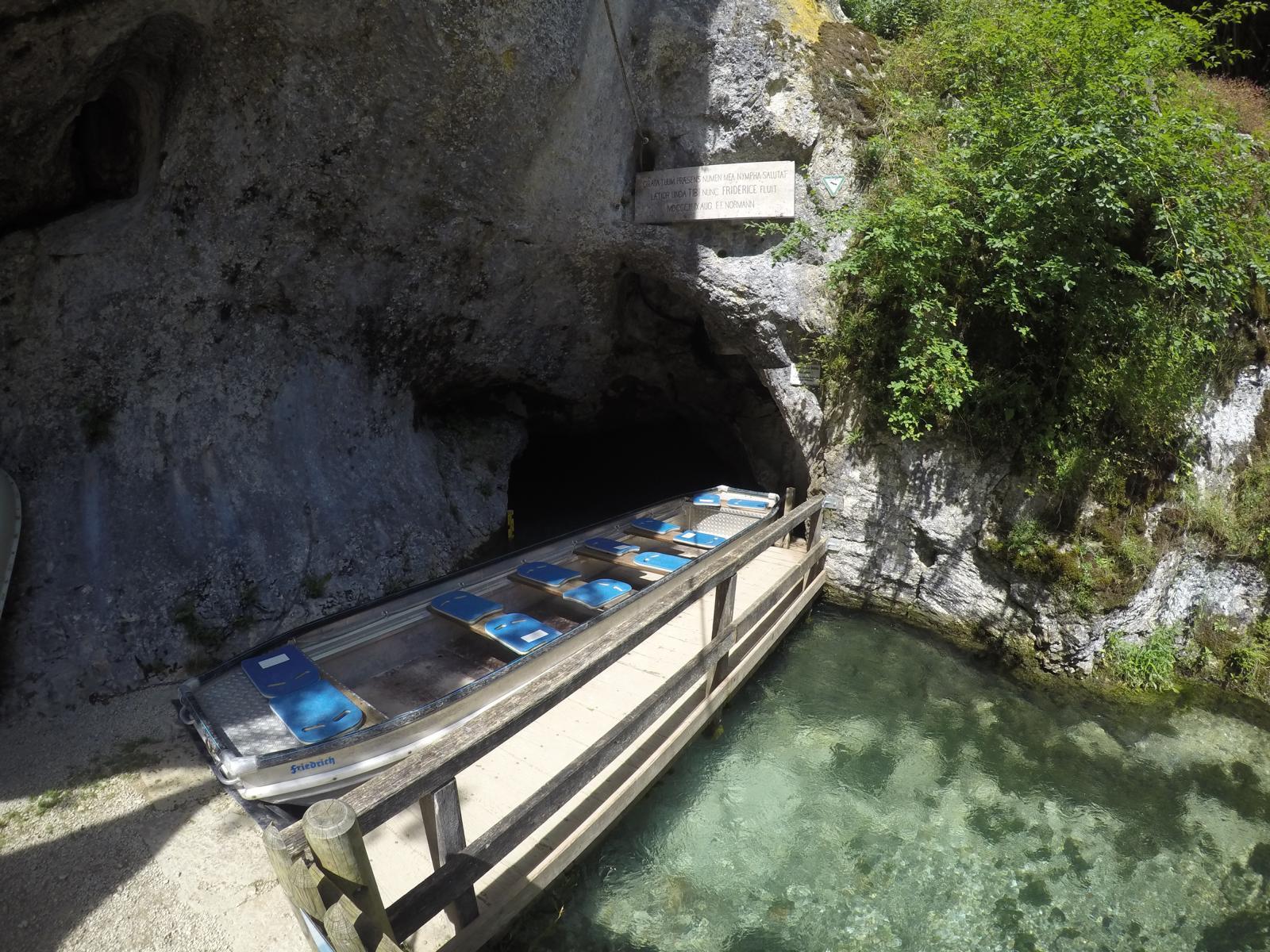 Radreise deutsche donau wimsener höhle
