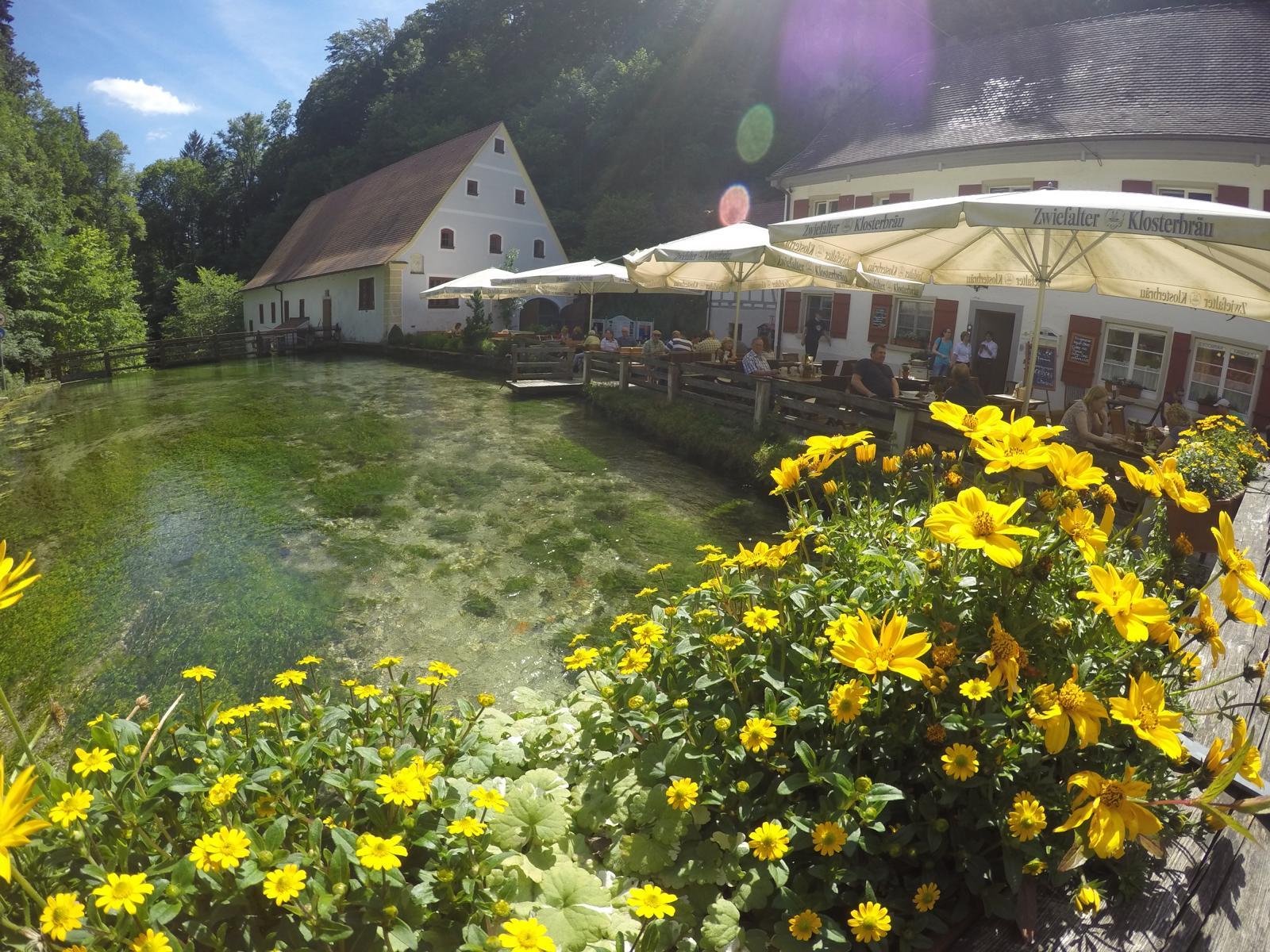 Radreise deutsche donau gasthof friedrichshöhle