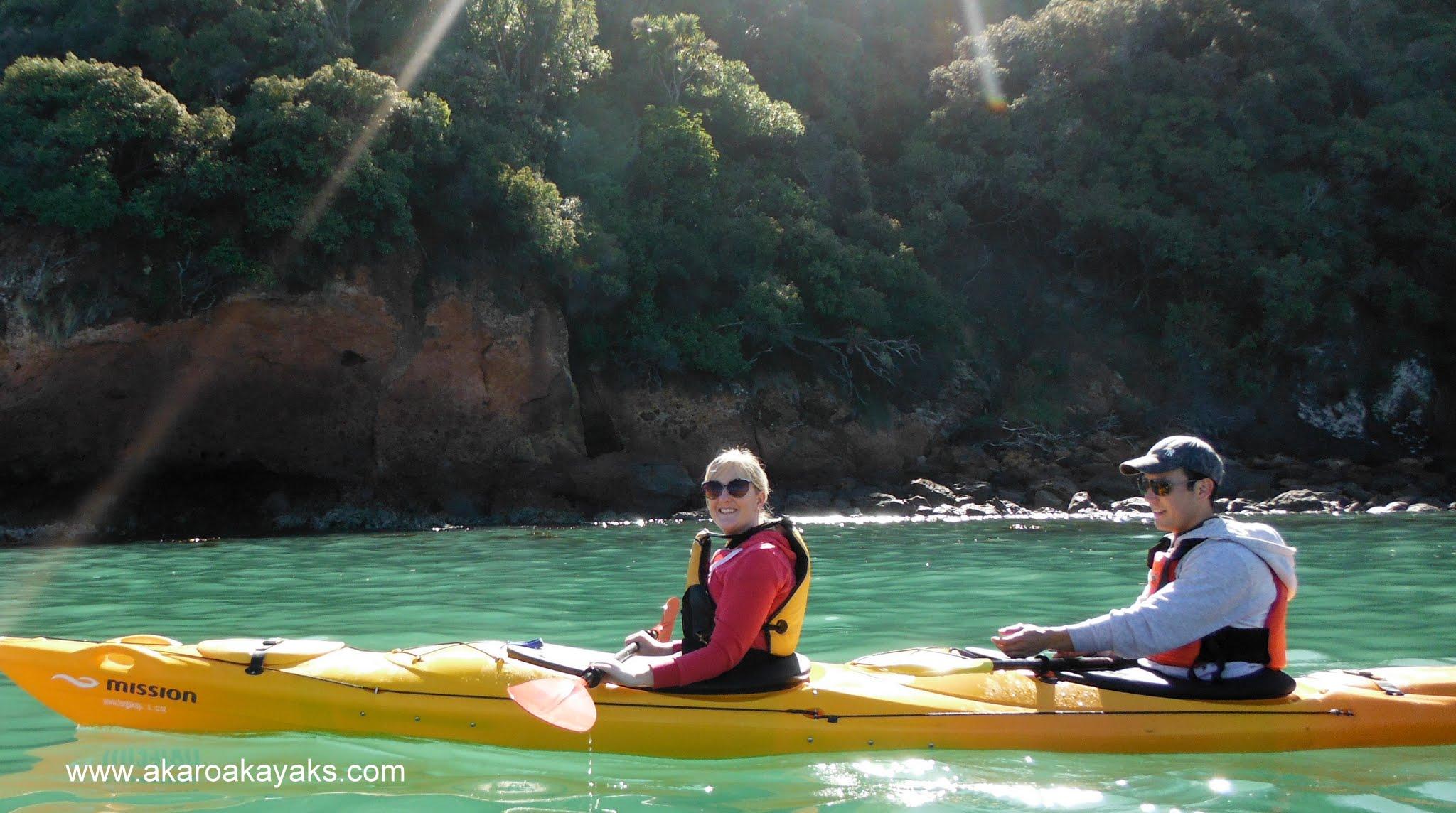 New Zealand Me Kayaking in Akaroa