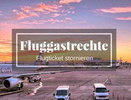 Kostenerstattung bei Flugticketstornierung