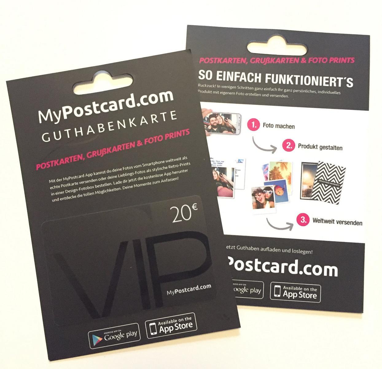 My Postcard App Reiseblog TravelTelling Gewinnspiel