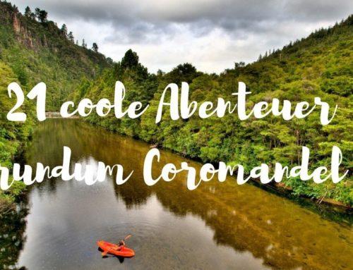 21 coole Abenteuer in & um Coromandel