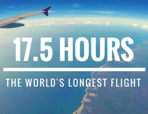 Auf dem längsten Flug der Welt von Auckland nach Doha