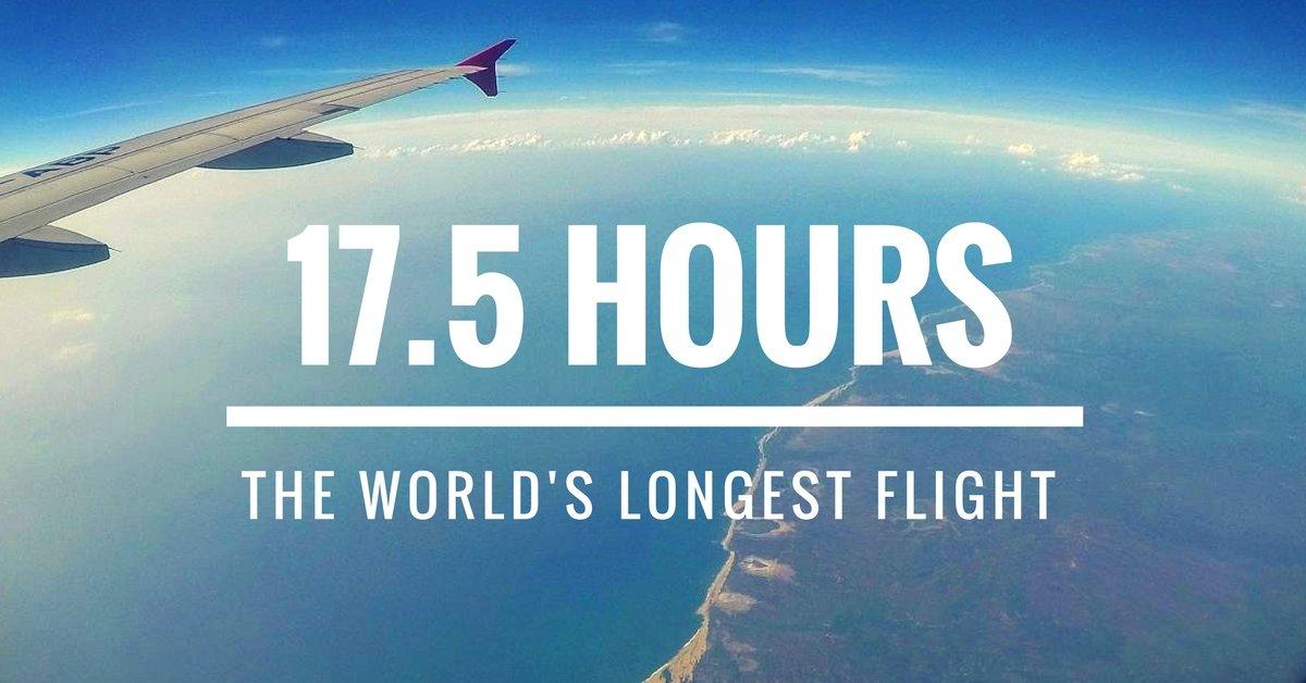 Auf dem längsten Flug der Welt - Reiseblog TravelTelling