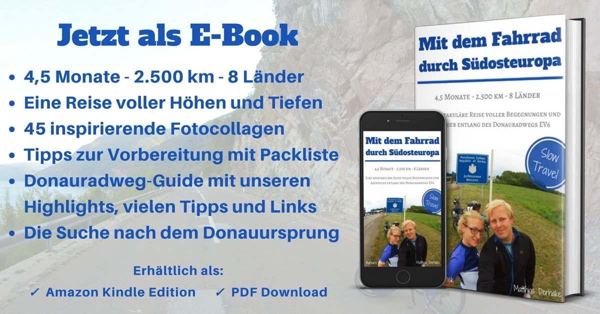 Slow Travel E-Book: Radreise entlang des DOnauradwegs