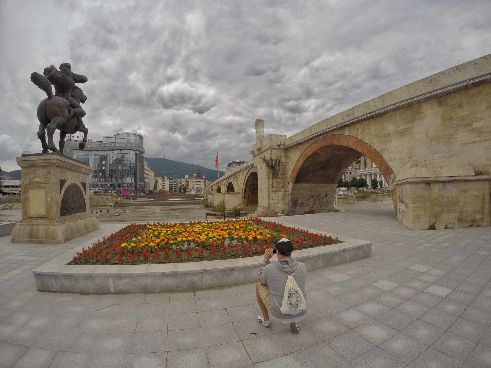 Städtereise nach Skopje