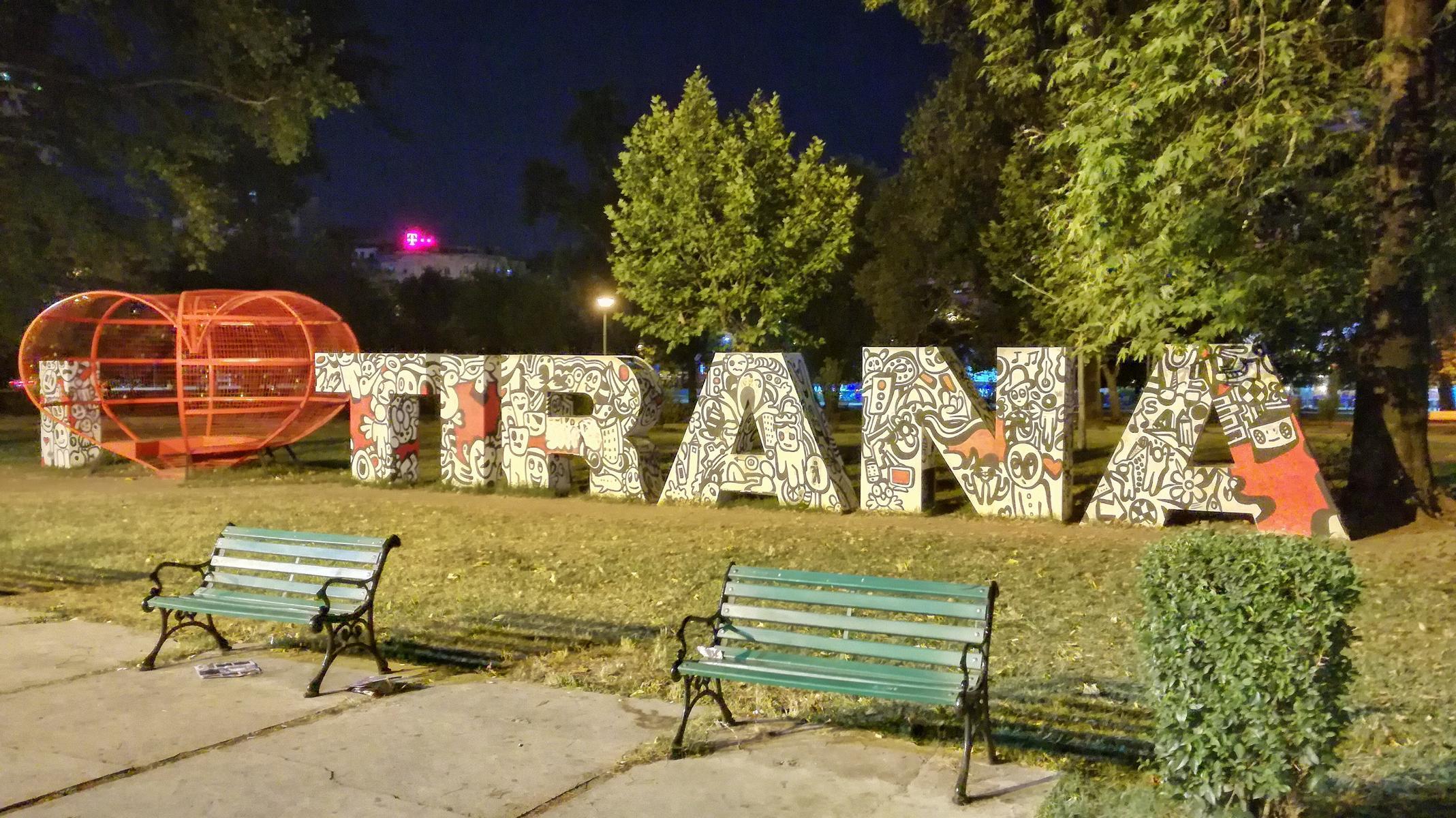 Tirana in Albanien