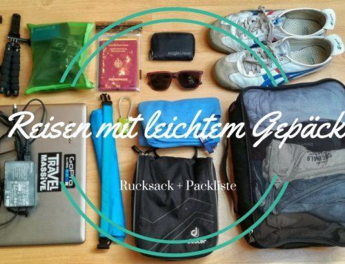 Bester Handgepäck Rucksack + Packliste