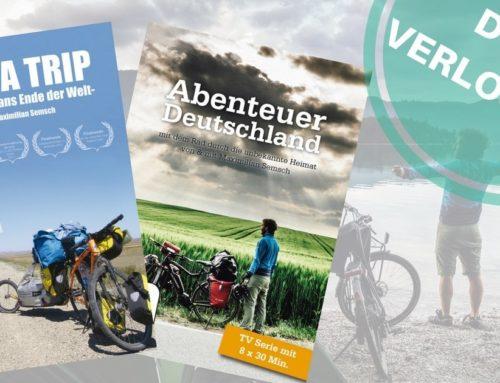 Gewinne abenteuerliche Fahrradreise DVD's