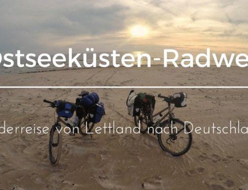 Ostseeküsten-Radweg: Von Lettland nach Deutschland
