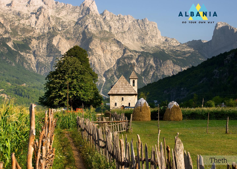 Wanderin Theth, Albanien