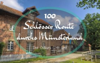 Münsterland: 100 Schlösser Route - Ostkurs (245 km)