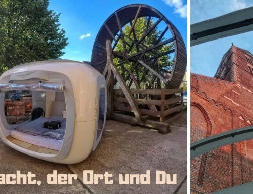 Urbanes Abenteuer vor der Haustür: Eine Nacht im sleeperoo in Wismar