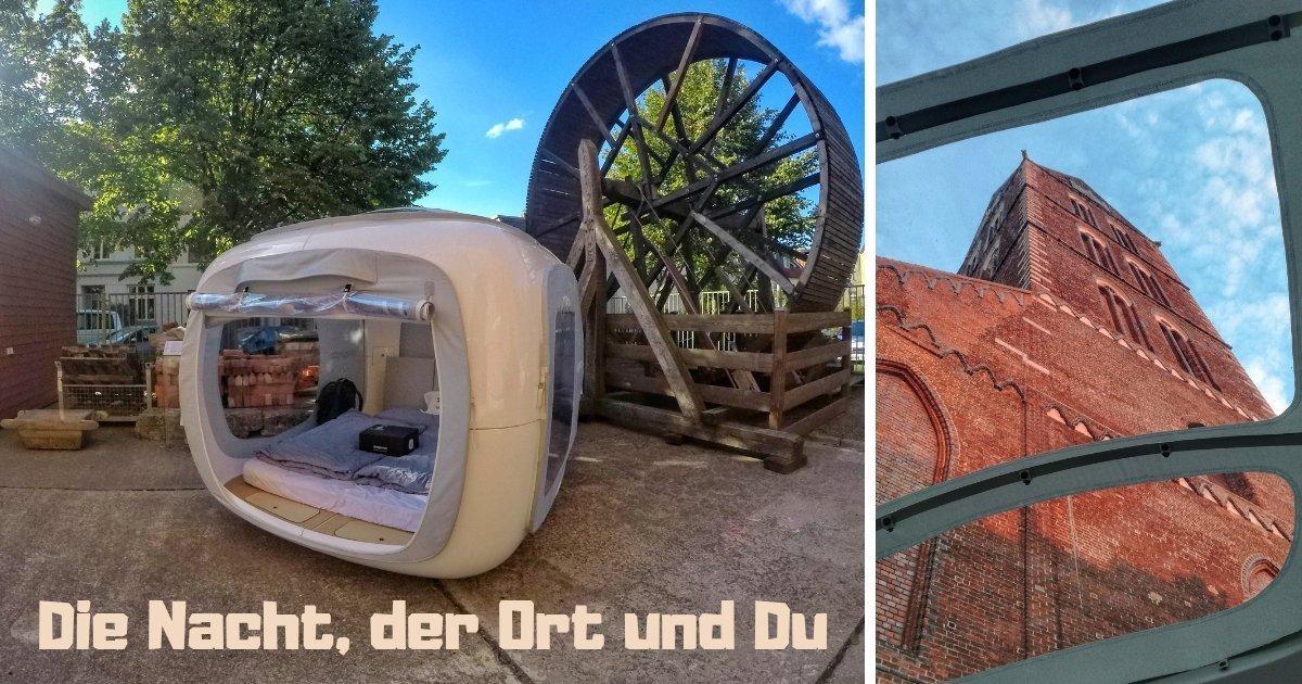 Urbanes Abenteuer: Übernachten im Sleeperoo in Wismar