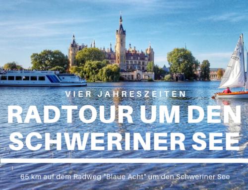 Eine Radtour am Schweriner See durch vier Jahreszeiten