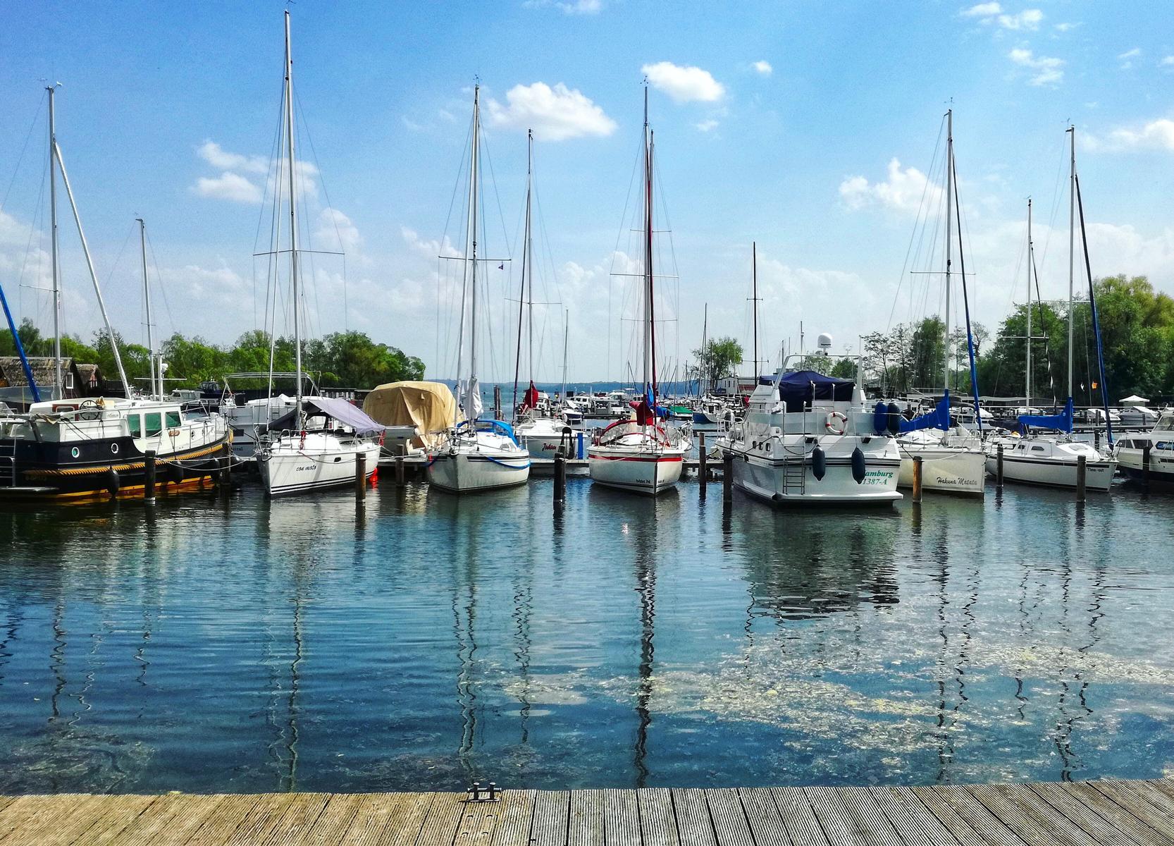 Hafen am Schweriner See