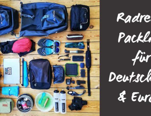 Packmaß, Gewicht und Komfort: Deine Ultimative Radreise Packliste