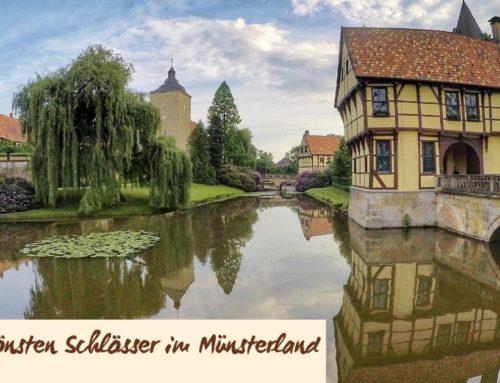 Die schönsten Schlösser entlang des 100 Schlösser Radwegs im Münsterland