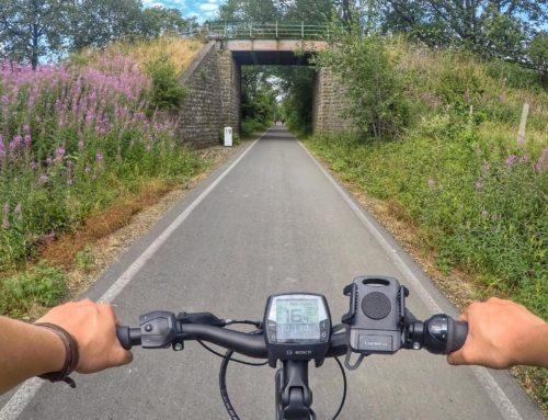 Radtour auf dem Panorama-Radweg und der Balkantrasse im Bergischen Land