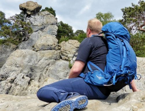 Wandern auf der Teutoschleife Dörenther Klippen im Teutoburger Wald