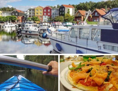 Aktiv- und Entspannungsurlaub an der Mecklenburgischen Seenplate