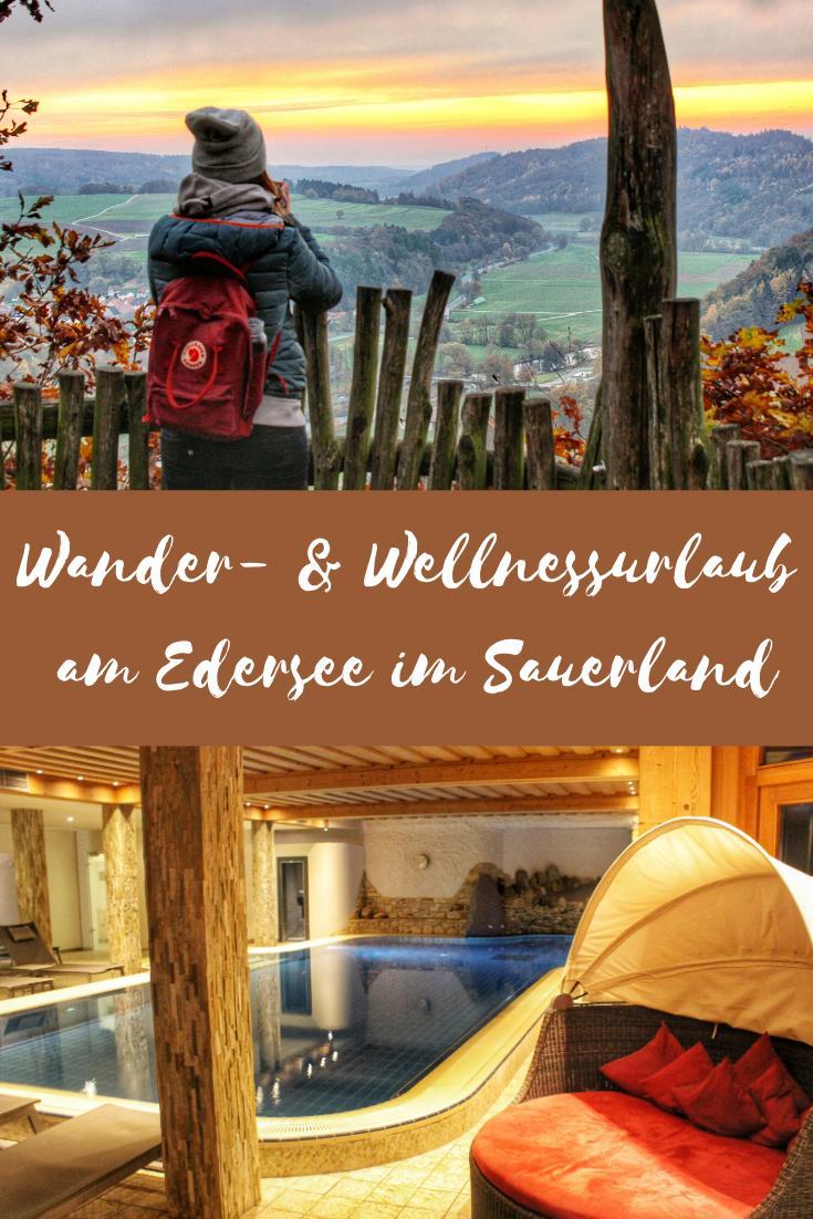 Wandern und Wellness: Urlaub im Nationalpark Kellerwald am Edersee im Sauerland #wellness #wandern #sauerland #edersee